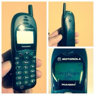 Motorola Talkabout T180 Vintage Untested Mobile Phone Rare Collectable Sammler