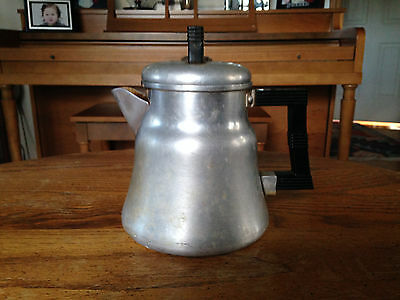 Vintage Small Wear-Ever Aluminum Coffee Pot #3004