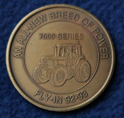 John Deere Collectible Coin Token Fly in 92 93 Breed of Power Tractor Visit