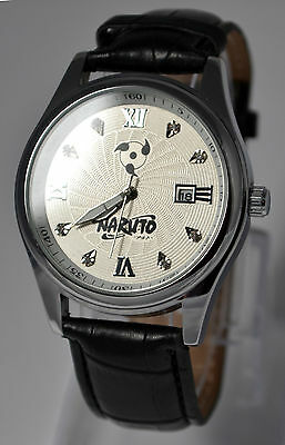 Naruto | The Calendar Watches (Perfect Birthday & Cosplay Gift!) - White Dial