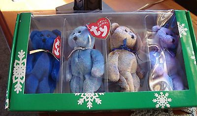 TY Jingle Beanies Collection, New in Box, CLUBBY EDITION