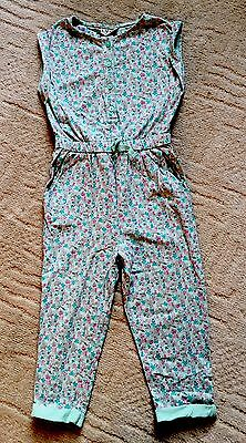 Girls Next Green Floral Jumpsuit 2-3 Worn Once ��