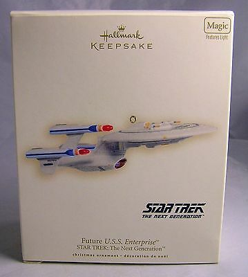 2007 NIB~Hallmark Star Trek USS Enterprise Ornament The Next Generation (MIB)