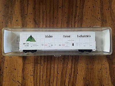 N Scale Red Caboose Idaho Forest Thrall Box Car 17409-5 Rd# HTCX 410