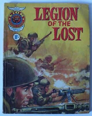 LION PICTURE LIBRARY NO 66 and 117  WAR COMICS