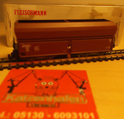 FLEISCHMANN N 8522 K Vagoni aperti DB come nuovo scatola originale