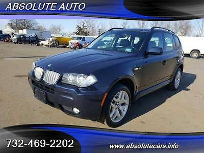 2008 BMW X3 3.0si Sport Utility 4-Door BEAUTIFUL CAR,  JUST ARRIVED , DON'T MISS THIS ONE