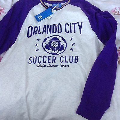 Bnwt Orlando City Long Sleeve Top Xl