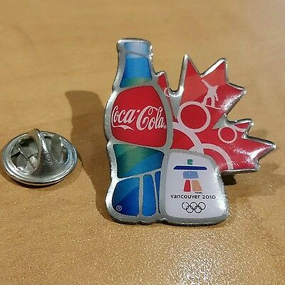Coca Cola 2010 Vancouver Olympic Snowboarding Pin