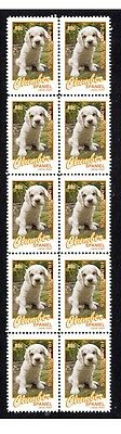 Clumber Spaniel Hunting Dogs Strip Of 10 Mint Stamps #1