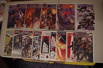 17 Transformers comics, Infiltration, All Hail Megatron, Official Movie Adaption