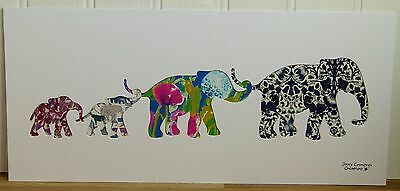 Liberty Of London Tana Lawn Fabric Elephant Family Picture 3347 Gift