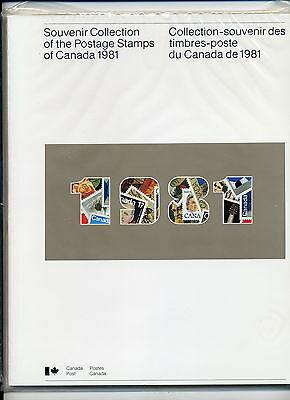 Weeda Canada VF 1981 Annual Collection #24, complete VF book CV $30