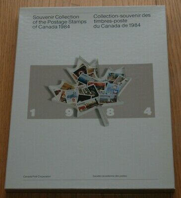 Weeda Canada VF 1984 Annual Collection #27, Complete book in outer box CV $40