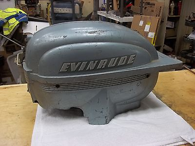 Evinrude Bigtwin 25 hp cowl 1951  1952