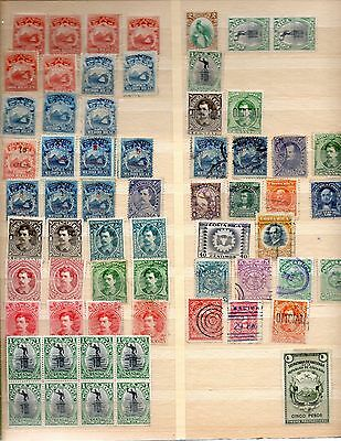 Costa Rica Stamps Mint And Used