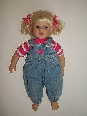 My Twinn - Cuddly Sisters Collection - Brittany with coverall outfit