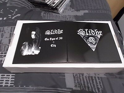 "SLIDHR The Eyes Of All 7"" EP  2007 BLACK METAL"