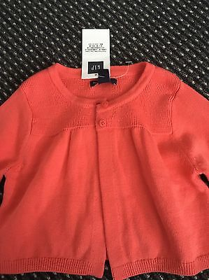 New Gap baby girl cardigan Size 12-18 Months