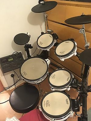 Roland TD8 Electric Drum Kit With Upgrades