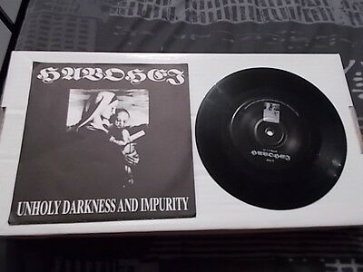 "HAVOHEJ Unholy Darkness and Impurity 7"" EP 1996!! RARE! PROFANATICA"