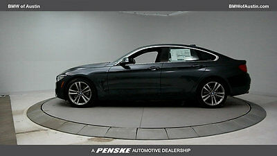 2017 BMW 4-Series 430i Gran Coupe 430i Gran Coupe 4 Series New 4 dr Automatic Gasoline 2.0-LITER BMW TWINPOWER TUR