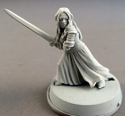Games Workshop LOTR Metal Two Towers Eowyn Based and primed