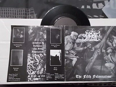 "GOATFIRE 7"" EP  The Fifth Fulmination  1999 RARE!! BLACK METAL"