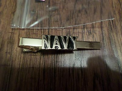 U.s Military Navy Tie Bar Or Tie Tac Clip On Type U.s Navy Official Product