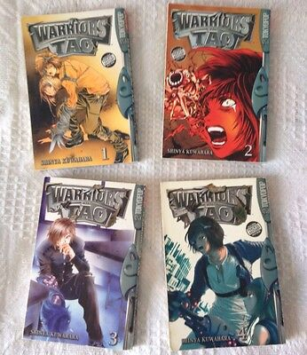 Warriors Of Tao Tokyopop Volume 1-4 Complete Collection Anime Manga Book English