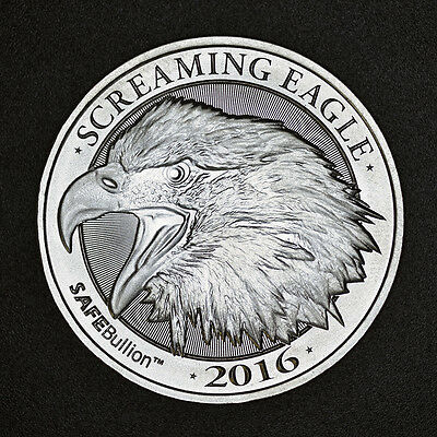 Screaming Eagle 1 oz .999 Silver Coin HD Harley Davidson Big Twin Motorcycle