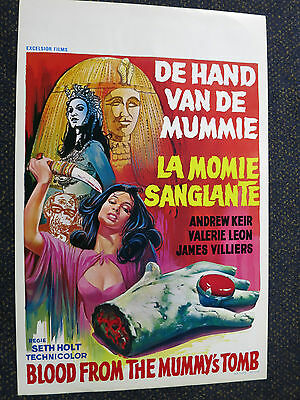 Blood From The Mummy's Tomb  Hammer Horror    Belgian  Poster