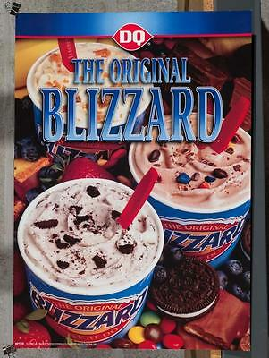 Dairy Queen Promotional Poster The Original Blizzard dq2