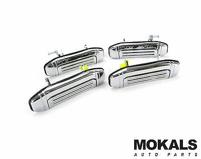 mitsubishi Pajero NL Outer Door Handles (Chrome) all sides 1991-1997
