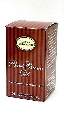 The Art of Shaving SANDALWOOD Pre-Shave Oil with Essential Oil 2 oz