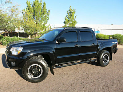 2012 Toyota Tacoma 4WD Double Cab TRD BLACK NO RESERVE 2012 TOYOTA TACOMA TRD SPORT DOUBLE  CAB 4X4 BEAUTIFUL DEALER MAINT
