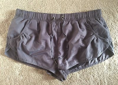 The Upside Grey Shorts Size S RRP $89.95 NEW WITH TAGS