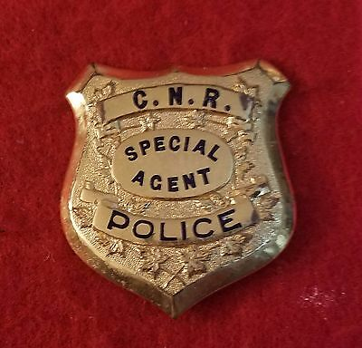obsolete Canadian National Railway Police Special Agent badge
