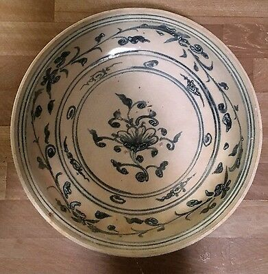 Lovely Hoi An Hoard Bowl Vietnamese Indo Chinese 15th/16th century