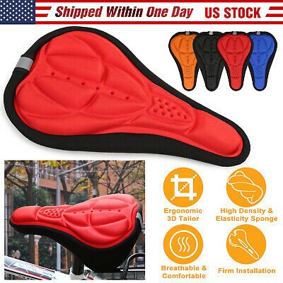 Outdoor Cycling Bicycle Bike Seat Cover Cushion Soft 3D Soft Padded
