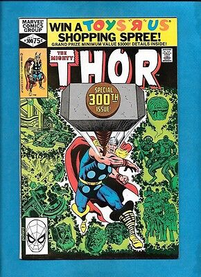 Thor #300 Marvel Comics October 1980 Giant Size Issue VF/NM
