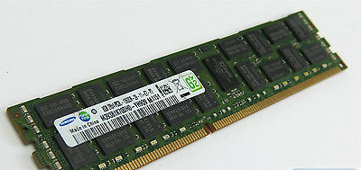 SAMSUNG 32GB 4X 8GB DDR3 1600MHz 2RX4 PC3-10600R ECC REG SERVER RAM DELL HP