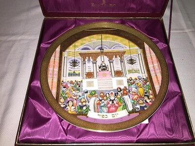 Royal Doulton Celebration of Faith Collection by James Woods ~ Yom Kippur #78