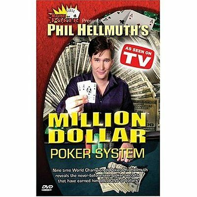 Phil Hellmuth's Million Dollar Poker System (DVD 2005) TEXAS HOLD EM