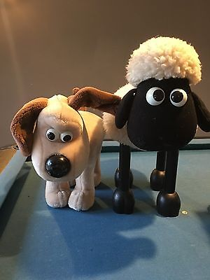 Wallace & Gromit Shaun The Sheep footstools. Vintage, fantastic items