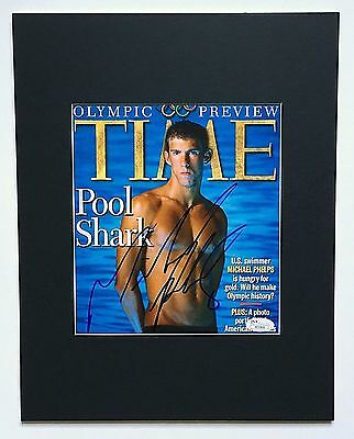 MICHAEL PHELPS JSA  early 2005 signed autograph