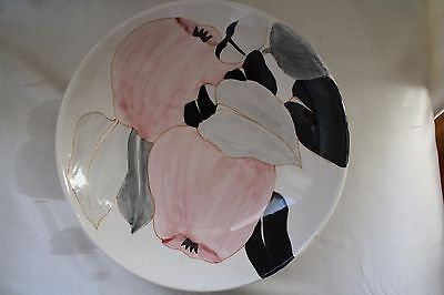 Vintage Hand Painted Decorative Plate Italy