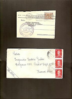 ARGENTINA lot of 23 COVERS LOT #39