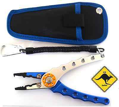High Grade Aluminium Fishing Pliers Multi Use - FAST P+H Split Ring Tackle