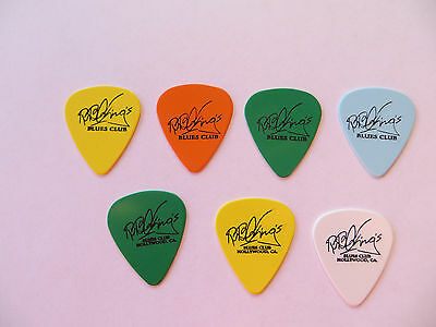 7 BB King -- Authentic -- Guitar Picks --  King Of The Blues - thrill is gone